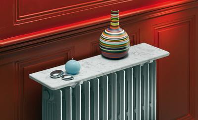 Tablettes de radiateur en marbre